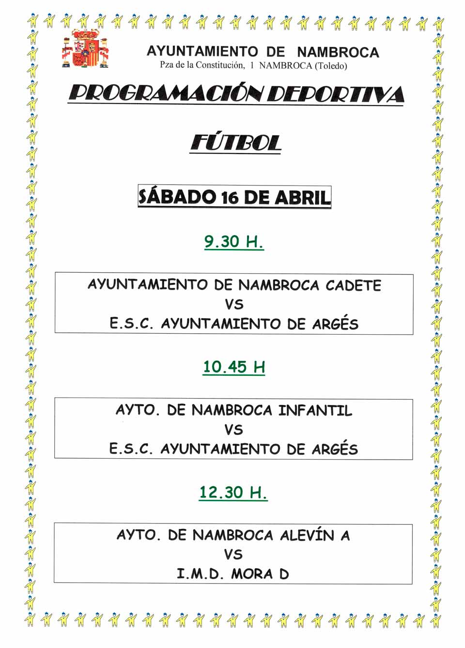 cartel abril futbol