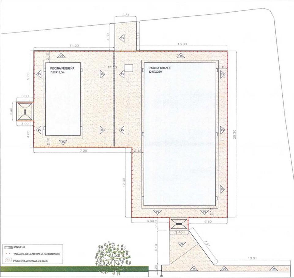 El Ayuntamiento de Nambroca reformará la piscina municipal
