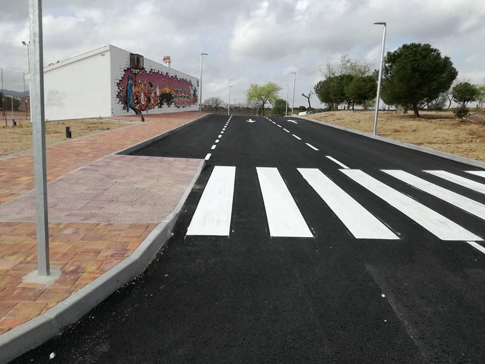 Abierta la prolongación de la calle Faisanes en el Barrio de las Nieves