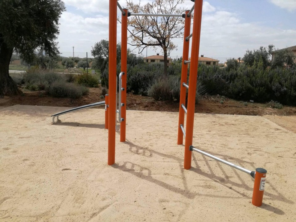 Abierto el nuevo parque de La Portada