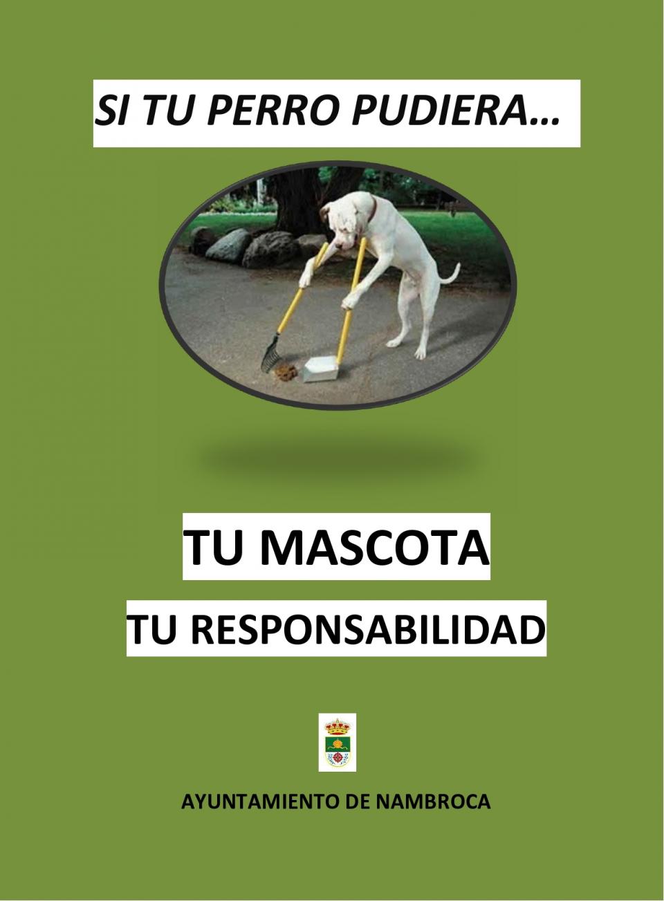 El ayuntamiento solicita responsabilidad a los dueños de mascotas