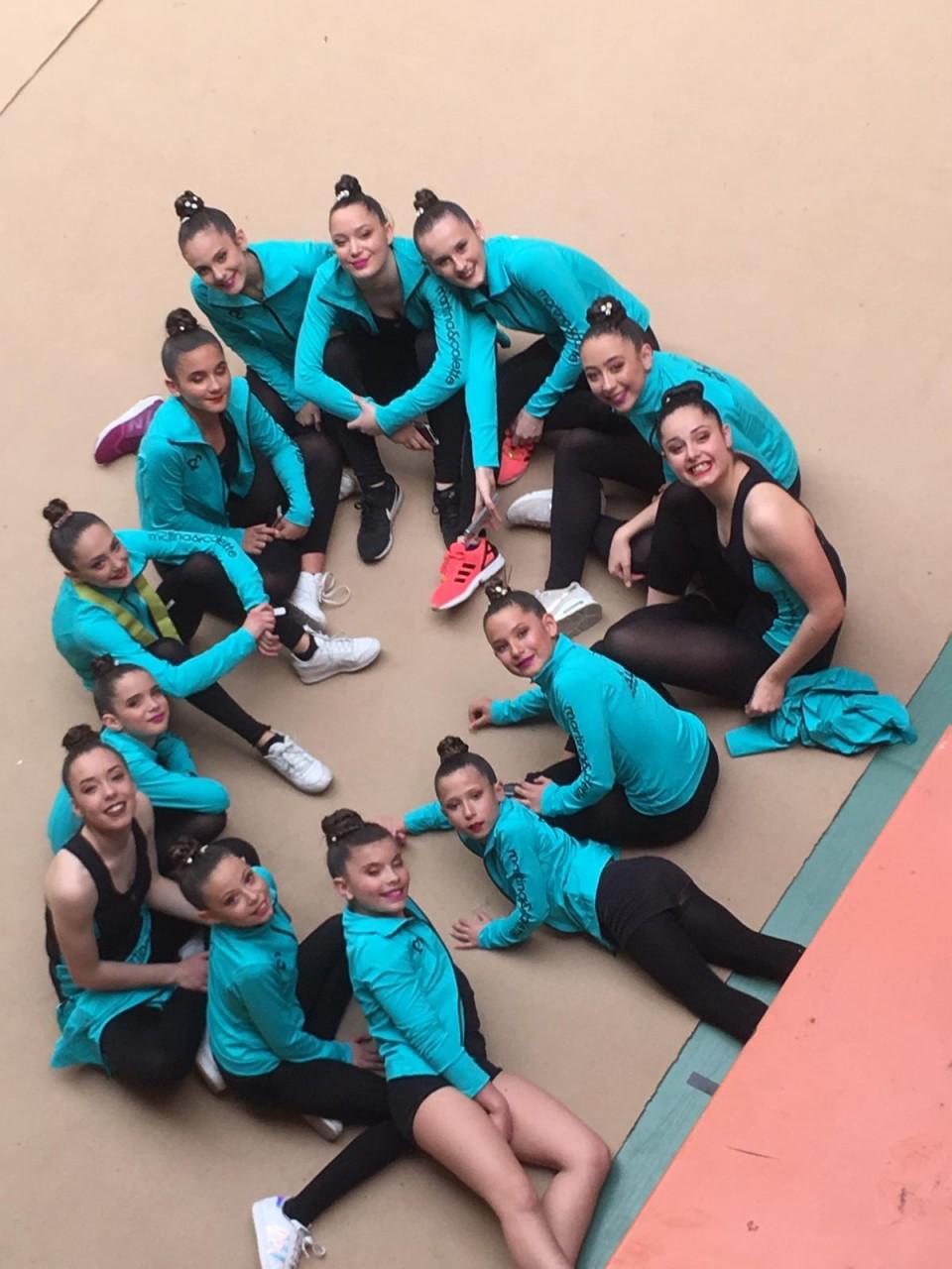 Gimnastas clasificadas para el Campeonato de España Base