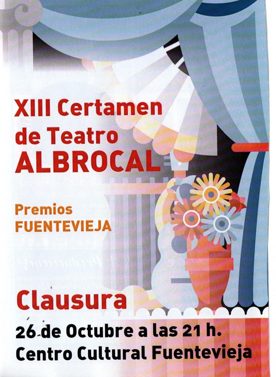 Anunciada la programación del XIII Certamen de Teatro Albrocal
