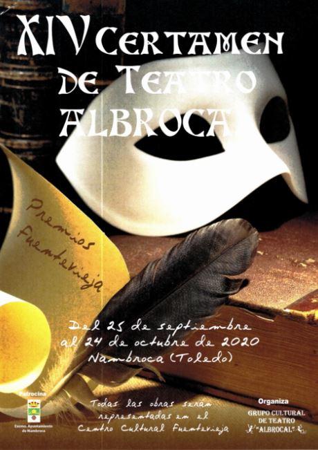 El Ayuntamiento de Nambroca ha suscrito el Convenio de colaboración para la celebración del XIV Certamen de teatro Albrocal