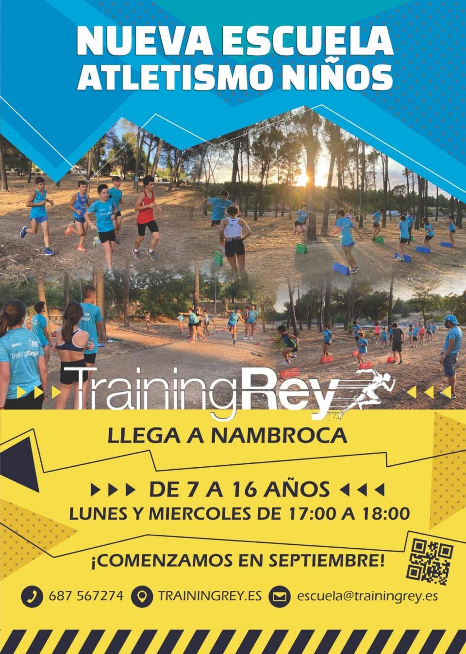Training Rey empieza a entrenar en Nambroca